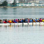Dragonboat in North Basin