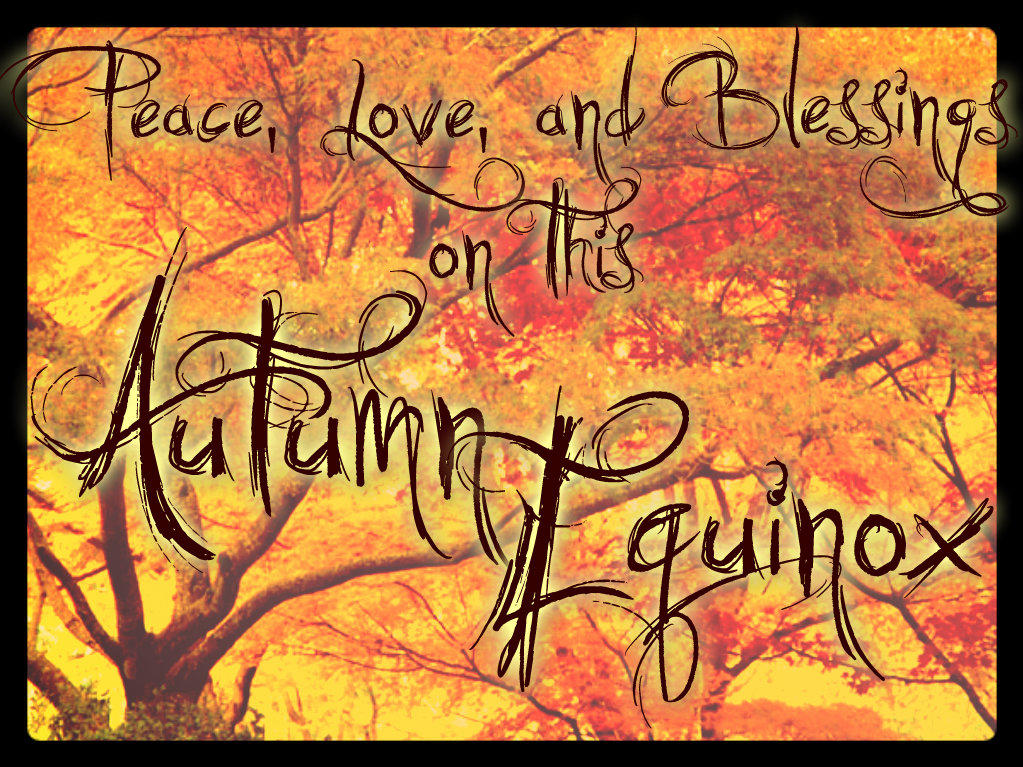 Autumn Equinox Gathering Sept. 22