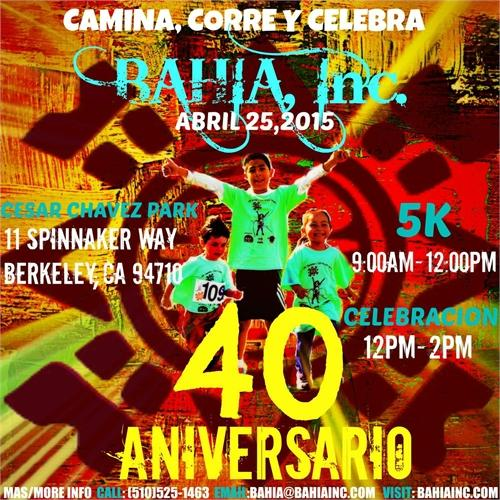 Run/Walk/Celebrate for BAHIA