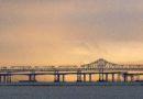 View of Oakland Bay Bridge January 22 2010