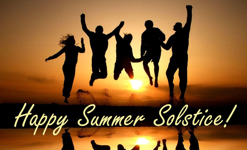 Summer Solstice Celebration on Father's Day