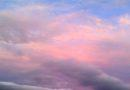 Pastel Sky at Sunset October 1, 2011