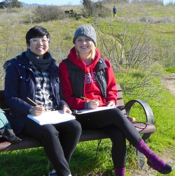 Artists, Writer Visit Park