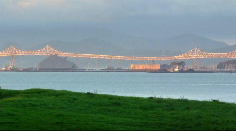 View of Richmond-San Rafael Bridge December 22, 2010