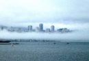 San Francisco Seen Through the Fog 10/11/2011