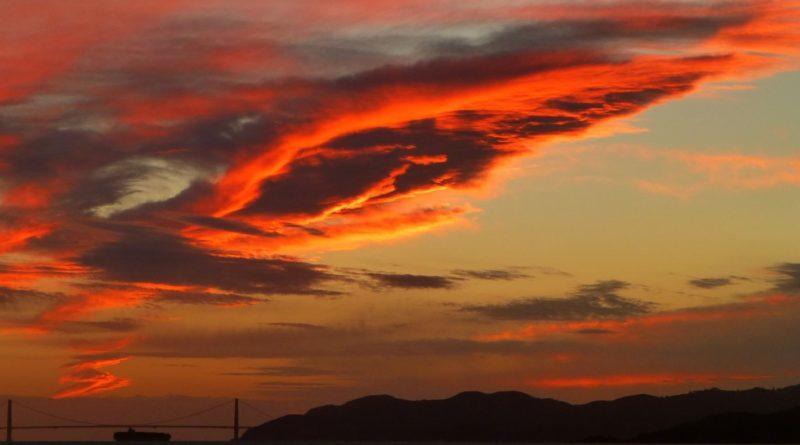 Sunset October 23 2012
