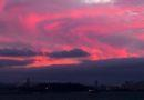 Sunset December 11 2012