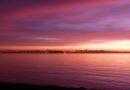 Sunset January 7, 2013