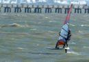 Windsurfing on a Blade