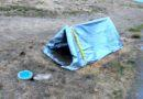 A Pup Tent for Dirt