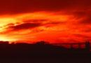 Sunset on December 27, 2013