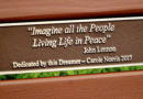 New Bench Honors John Lennon