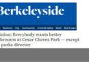 Op-ed in Berkeleyside 5/9/17