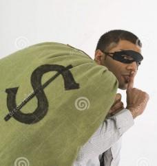 robber-sneaking-away-money-28912645