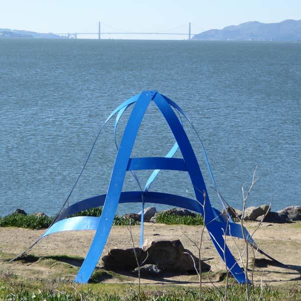"""Sky Window"" by long-time Berkeley resident Kati Casida"